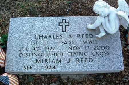 REED, CHARLES A. - Yavapai County, Arizona | CHARLES A. REED - Arizona Gravestone Photos