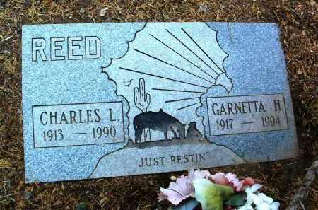 REED, CHARLES L. - Yavapai County, Arizona | CHARLES L. REED - Arizona Gravestone Photos