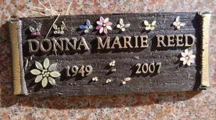 REED, DONNA MARIE - Yavapai County, Arizona   DONNA MARIE REED - Arizona Gravestone Photos