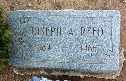 REED, JOSEPH A. - Yavapai County, Arizona   JOSEPH A. REED - Arizona Gravestone Photos