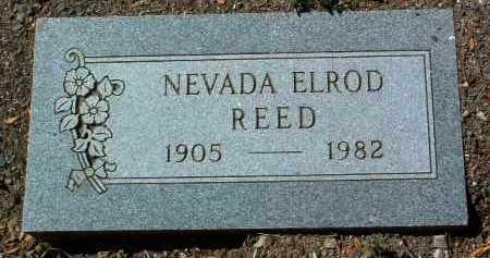 ELROD REEVE, NEVADA - Yavapai County, Arizona | NEVADA ELROD REEVE - Arizona Gravestone Photos