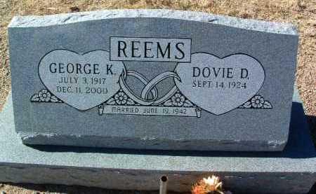 REEMS, GEORGE K. - Yavapai County, Arizona | GEORGE K. REEMS - Arizona Gravestone Photos
