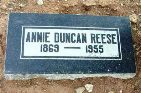 REESE, ANNIE - Yavapai County, Arizona   ANNIE REESE - Arizona Gravestone Photos