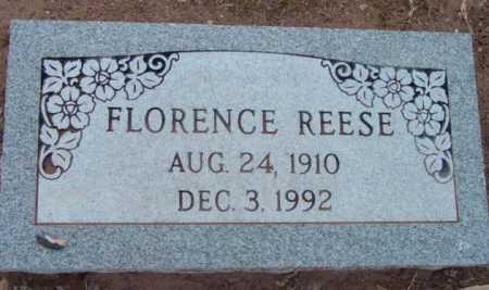 REESE, FLORENCE - Yavapai County, Arizona | FLORENCE REESE - Arizona Gravestone Photos