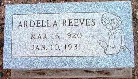 REEVES, ARDELLA - Yavapai County, Arizona   ARDELLA REEVES - Arizona Gravestone Photos