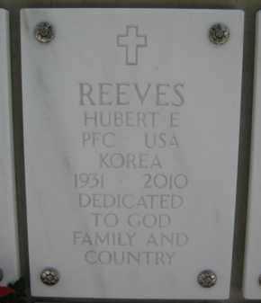 REEVES, HUBERT EDWARD - Yavapai County, Arizona | HUBERT EDWARD REEVES - Arizona Gravestone Photos