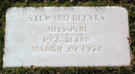 REEVES, STEWARD - Yavapai County, Arizona | STEWARD REEVES - Arizona Gravestone Photos