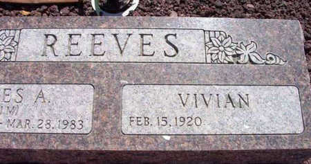 REEVES, VIVIAN MARGRETT - Yavapai County, Arizona   VIVIAN MARGRETT REEVES - Arizona Gravestone Photos