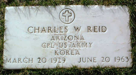 REID, CHARLES W. - Yavapai County, Arizona | CHARLES W. REID - Arizona Gravestone Photos