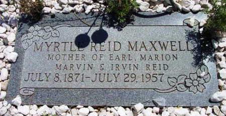 MAXWELL, MYRTLE ETTIE - Yavapai County, Arizona | MYRTLE ETTIE MAXWELL - Arizona Gravestone Photos