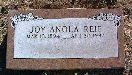 BRANDT REIF, JOY ANOLA - Yavapai County, Arizona | JOY ANOLA BRANDT REIF - Arizona Gravestone Photos