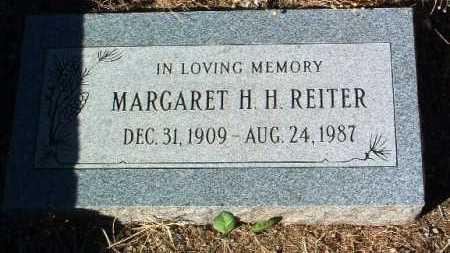 REITER, MARGARET H. H. - Yavapai County, Arizona | MARGARET H. H. REITER - Arizona Gravestone Photos