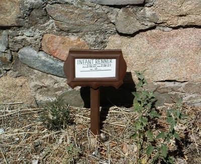 RENNER, INFANT DAUGHTER - Yavapai County, Arizona   INFANT DAUGHTER RENNER - Arizona Gravestone Photos