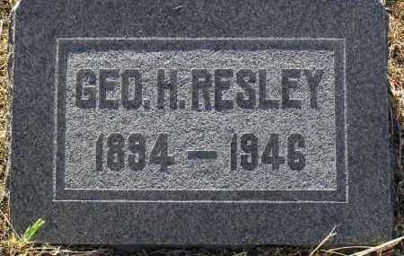 RESLEY, GEORGE HAWTIN (SAM) - Yavapai County, Arizona | GEORGE HAWTIN (SAM) RESLEY - Arizona Gravestone Photos