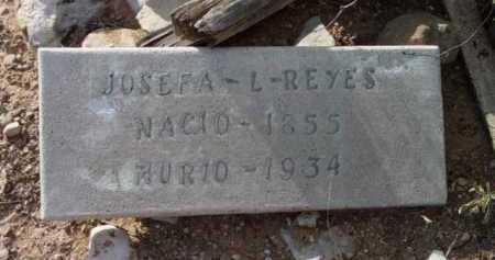 REYES, JOSEFA L. - Yavapai County, Arizona | JOSEFA L. REYES - Arizona Gravestone Photos