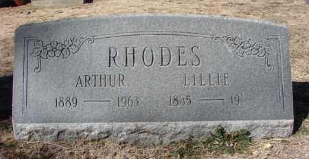 RHODES, ARTHUR - Yavapai County, Arizona   ARTHUR RHODES - Arizona Gravestone Photos