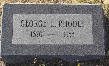 RHODES, GEORGE L. - Yavapai County, Arizona | GEORGE L. RHODES - Arizona Gravestone Photos