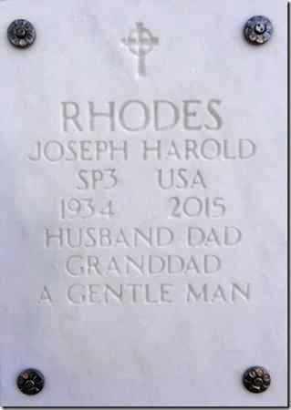 RHODES, JOSEPH HAROLD - Yavapai County, Arizona   JOSEPH HAROLD RHODES - Arizona Gravestone Photos
