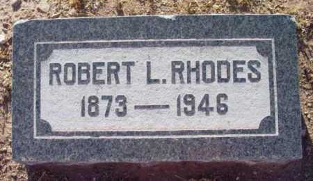 RHODES, ROBERT LEE - Yavapai County, Arizona | ROBERT LEE RHODES - Arizona Gravestone Photos