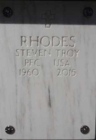 RHODES, STEVEN TROY - Yavapai County, Arizona   STEVEN TROY RHODES - Arizona Gravestone Photos