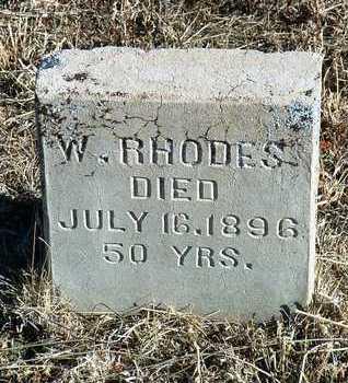 RHODES, WILLIAM - Yavapai County, Arizona | WILLIAM RHODES - Arizona Gravestone Photos
