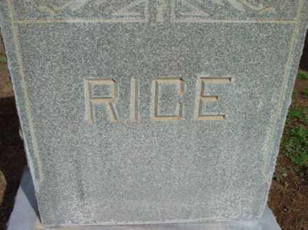 RICE, FAMILY HEADSTONE - Yavapai County, Arizona | FAMILY HEADSTONE RICE - Arizona Gravestone Photos