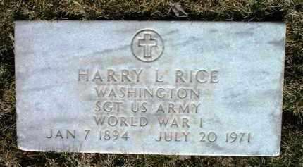 RICE, HARRY LINDUSKY - Yavapai County, Arizona | HARRY LINDUSKY RICE - Arizona Gravestone Photos