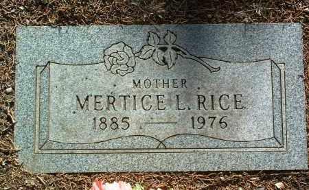 RICE, MERTICE THEORA - Yavapai County, Arizona | MERTICE THEORA RICE - Arizona Gravestone Photos