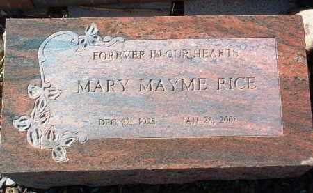 RICE, MARY MAYME - Yavapai County, Arizona | MARY MAYME RICE - Arizona Gravestone Photos