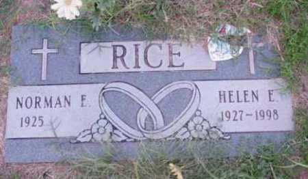 RICE, NORMAN E. - Yavapai County, Arizona | NORMAN E. RICE - Arizona Gravestone Photos