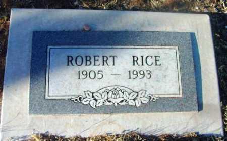 RICE, ROBERT - Yavapai County, Arizona   ROBERT RICE - Arizona Gravestone Photos