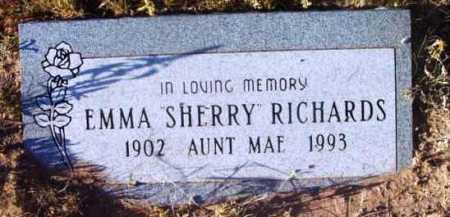 RICHARDS, EMMA SHERRY - Yavapai County, Arizona | EMMA SHERRY RICHARDS - Arizona Gravestone Photos