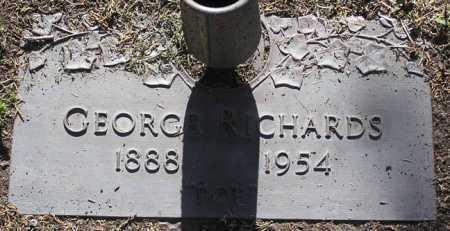 RICHARDS, GEORGE - Yavapai County, Arizona | GEORGE RICHARDS - Arizona Gravestone Photos