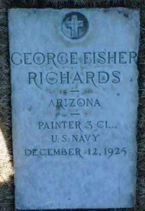 RICHARDS, GEORGE FISHER - Yavapai County, Arizona | GEORGE FISHER RICHARDS - Arizona Gravestone Photos