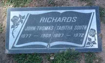 RICHARDS, JOHN THOMAS - Yavapai County, Arizona   JOHN THOMAS RICHARDS - Arizona Gravestone Photos