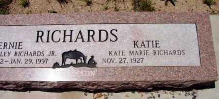 RICHARDS, KATIE MARIE - Yavapai County, Arizona | KATIE MARIE RICHARDS - Arizona Gravestone Photos