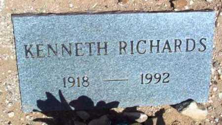 RICHARDS, KENNETH LEE - Yavapai County, Arizona | KENNETH LEE RICHARDS - Arizona Gravestone Photos