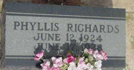 RICHARDS, PHYLLIS ELIZABETH - Yavapai County, Arizona | PHYLLIS ELIZABETH RICHARDS - Arizona Gravestone Photos