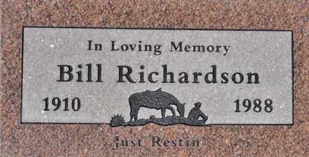 RICHARDSON, BILL - Yavapai County, Arizona | BILL RICHARDSON - Arizona Gravestone Photos
