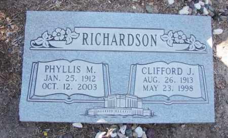 RICHARDSON, CLIFFORD JOHN - Yavapai County, Arizona | CLIFFORD JOHN RICHARDSON - Arizona Gravestone Photos