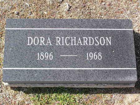 RICHARDSON, DORA - Yavapai County, Arizona | DORA RICHARDSON - Arizona Gravestone Photos