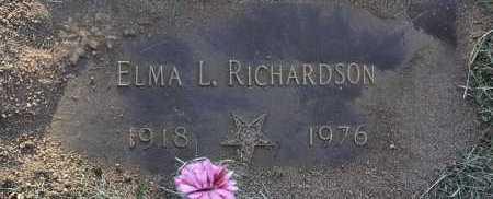 RICHARDSON, ELMA L. - Yavapai County, Arizona | ELMA L. RICHARDSON - Arizona Gravestone Photos