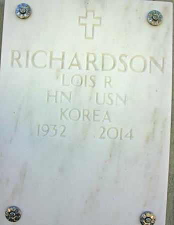 RICHARDSON, LOIS R. - Yavapai County, Arizona | LOIS R. RICHARDSON - Arizona Gravestone Photos