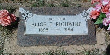 RICHWINE, ALICE VIOLA - Yavapai County, Arizona   ALICE VIOLA RICHWINE - Arizona Gravestone Photos