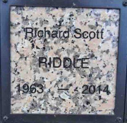 RIDDLE, RICHARD SCOTT - Yavapai County, Arizona | RICHARD SCOTT RIDDLE - Arizona Gravestone Photos