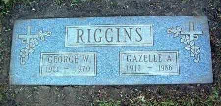 RIGGINS, GAZELLE A. - Yavapai County, Arizona | GAZELLE A. RIGGINS - Arizona Gravestone Photos
