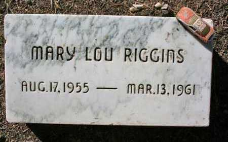 RIGGINS, MARY LOU - Yavapai County, Arizona | MARY LOU RIGGINS - Arizona Gravestone Photos
