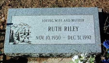 WOODS RILEY, RUTH - Yavapai County, Arizona | RUTH WOODS RILEY - Arizona Gravestone Photos
