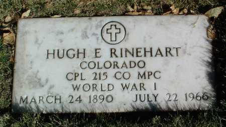RINEHART, HUGH ELIJAH - Yavapai County, Arizona | HUGH ELIJAH RINEHART - Arizona Gravestone Photos