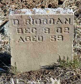 RIORDAN, DANIEL - Yavapai County, Arizona | DANIEL RIORDAN - Arizona Gravestone Photos
